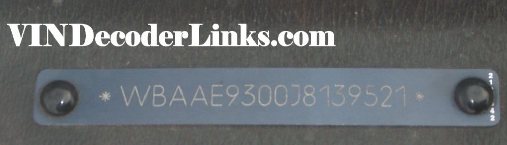 vindecoderlinks - vin decoder directory for modern 17 digit